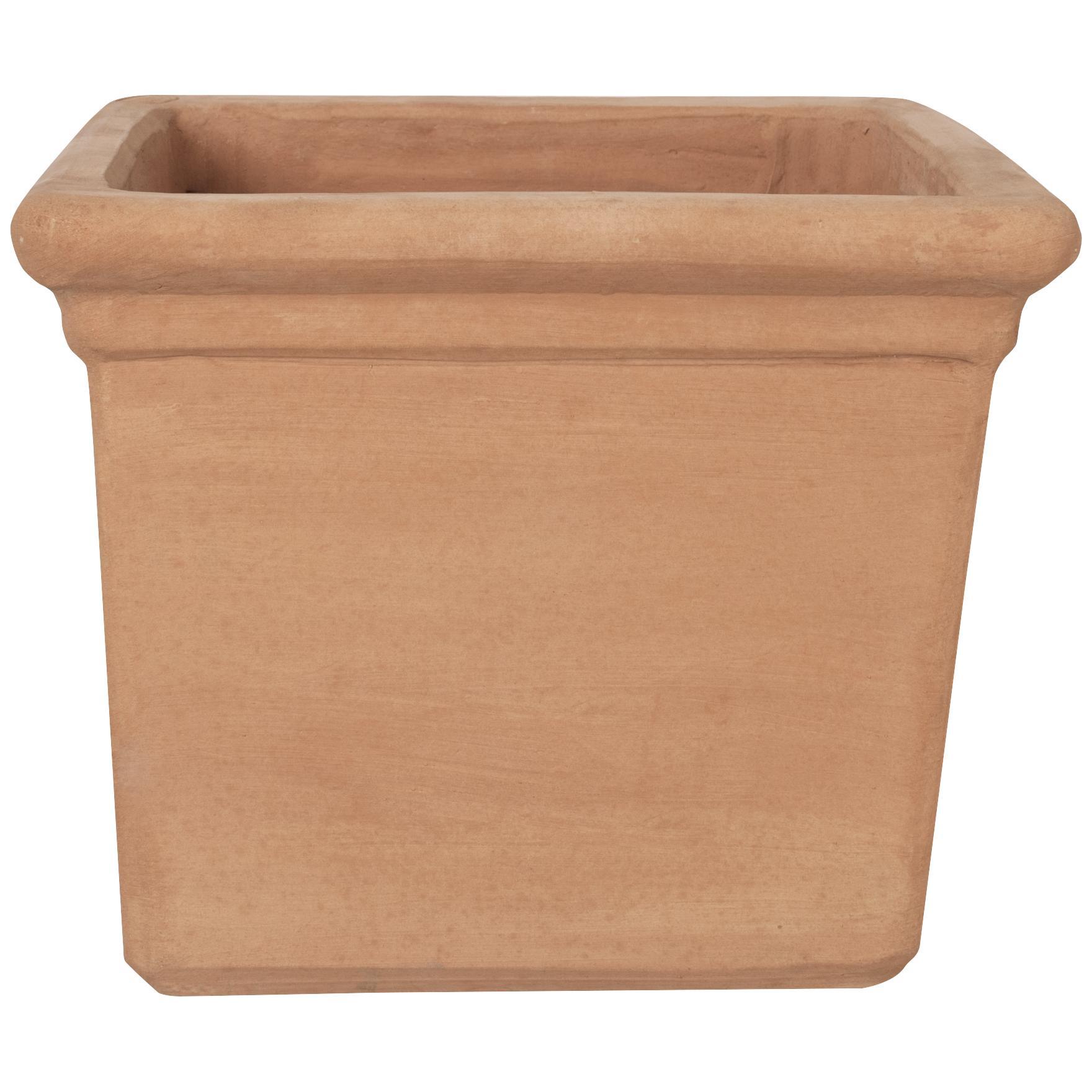 Terracotta Cubo, Cassetta, Semicircolare en Angolare